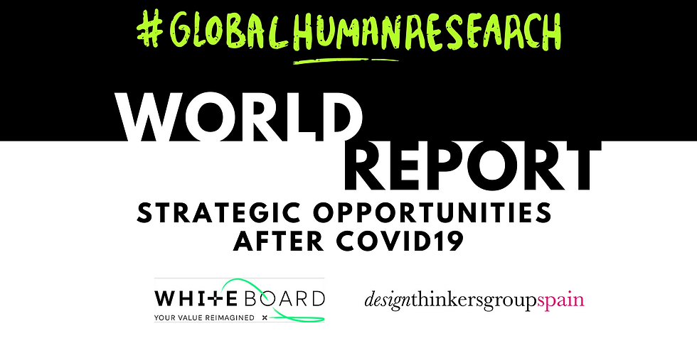 #GlobalHumanResearch World Report: Strategic opportunities after COVID19
