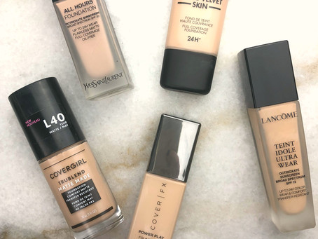 Matte Foundations Reviewed and Ranked