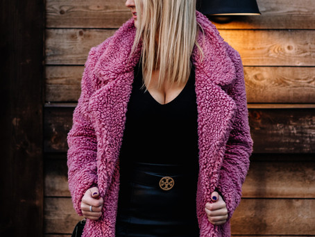 The Colorful Teddy Coat...Your Black Friday Purchase