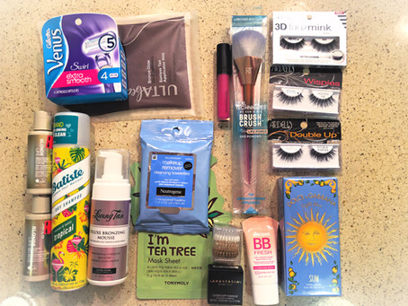 ULTA items I bought before my trip to Mexico. Which items do I recommend?