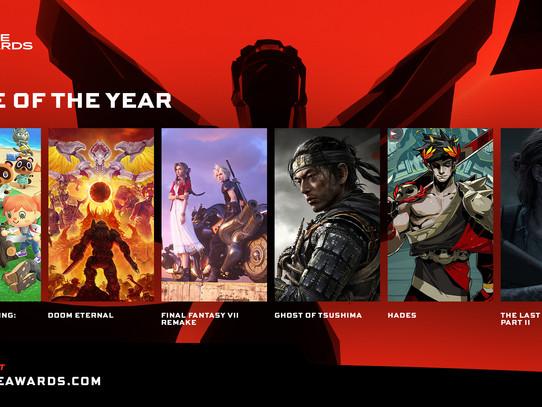 Confira a lista de indicados ao The Game Awards 2020