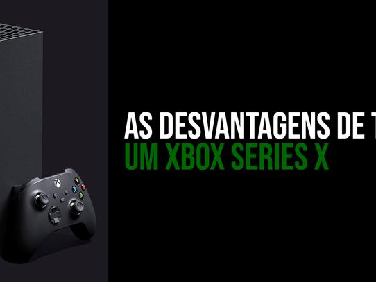 Motivos para NÃO COMPRAR um Xbox Series X