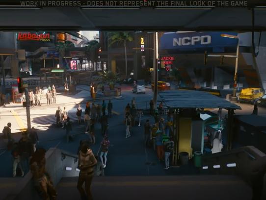 Novos detalhes da densidade populacional são revelados por leaker de Cyberpunk 2077