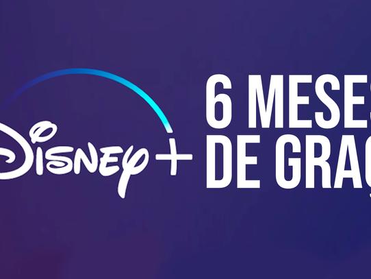 Como ganhar até 6 meses de graça no Disney+
