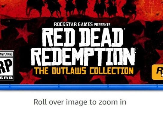 Red Dead Redemption Remake vaza em página da Amazon
