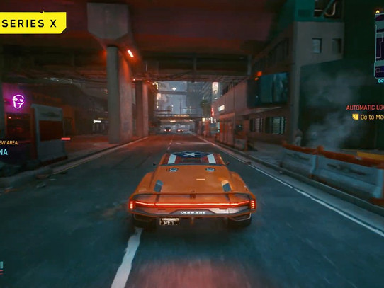 CD Projekt Red lança gameplay do Cyberpunk 2077 rodando no Series X