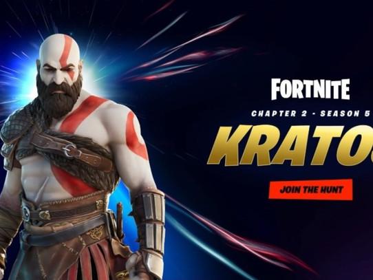Kratos estará no Fortnite (vazamento)