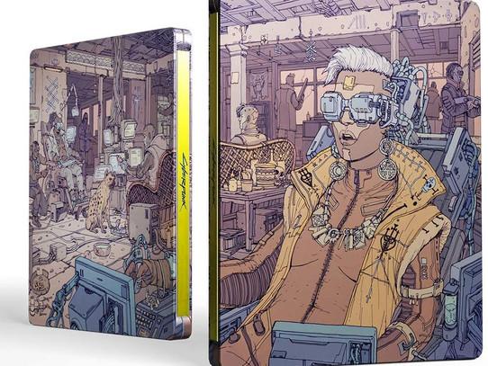 Edição com Steelbook e de colecionador do Cyberpunk 2077 a venda no Brasil