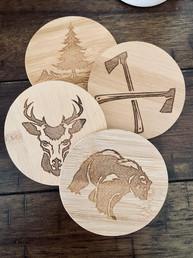woodsman bamboo coasters.jpg