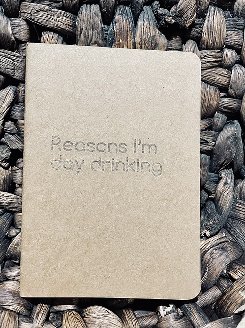 Day Drinking Mini  Notebook