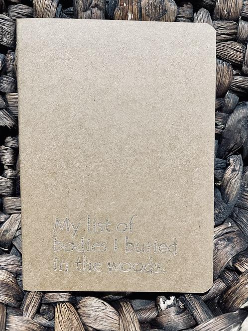 Bodies Mini Notebook
