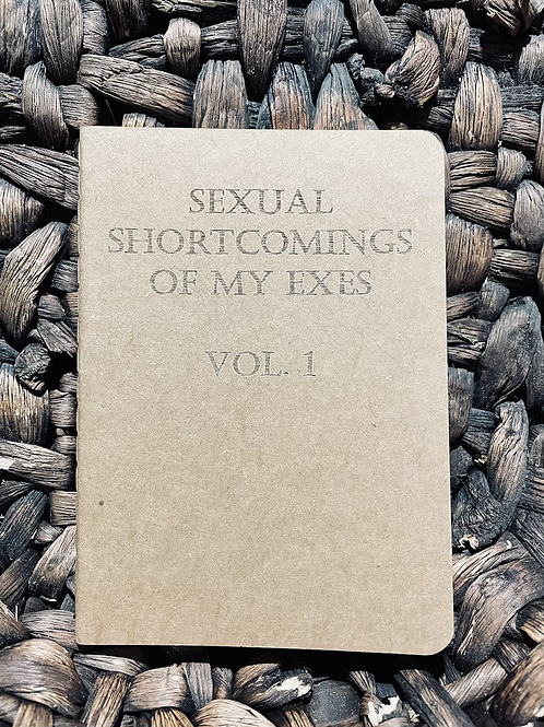 Sexual Shortcomings Mini Notebook