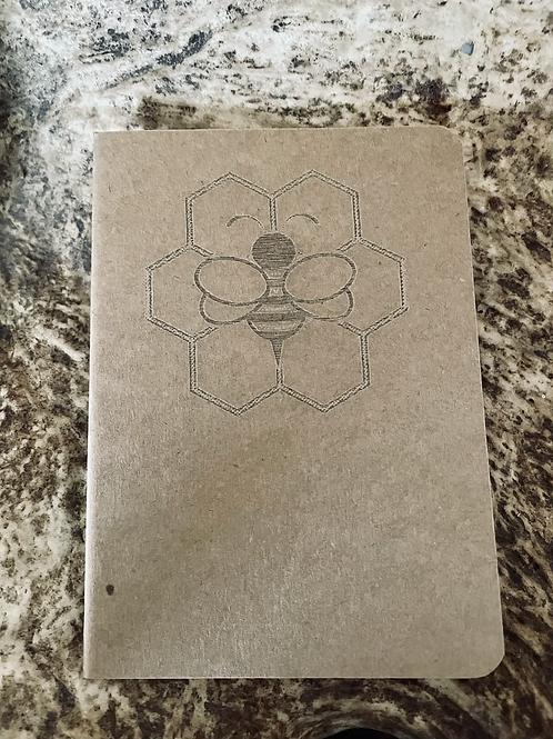 Honey Bee Mini Notebook