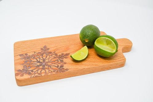 Snowflake Oak Cutting Board