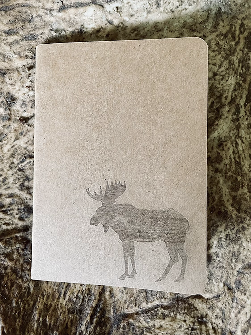 Moose Mini Notebook