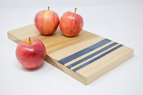 Blue Stripe Cutting Board
