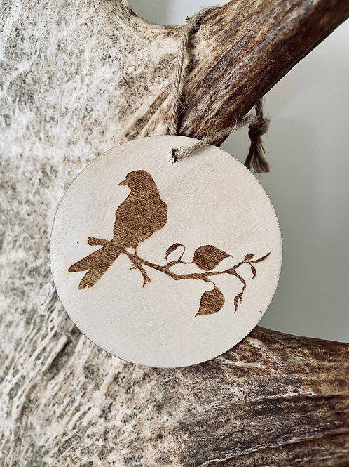 Bird Branch Ornament
