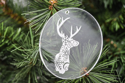 "3"" Acrylic Ornaments"
