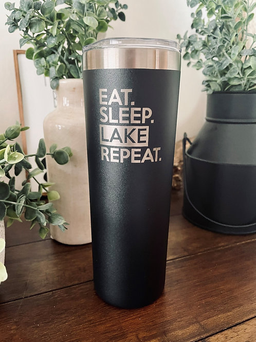 Eat, Sleep, Lake