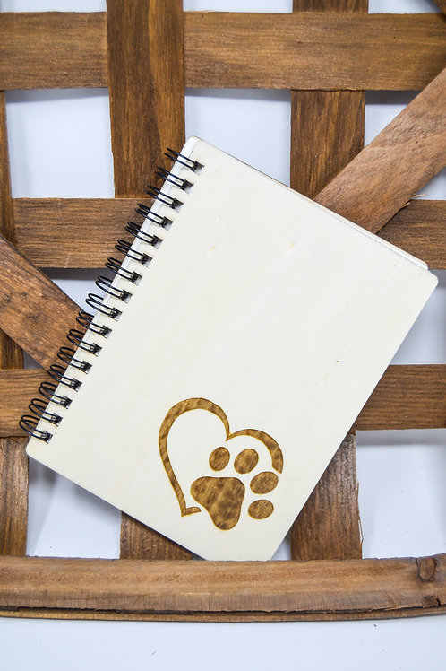 Wooden Cover Notebooks