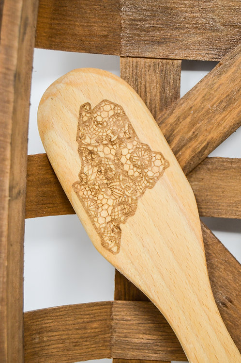 Maine Lace Mandala Spoon
