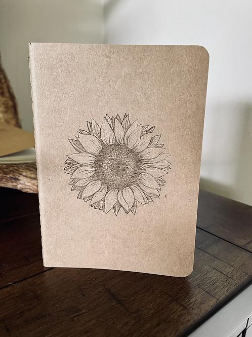 Sunflower Mini Notebook