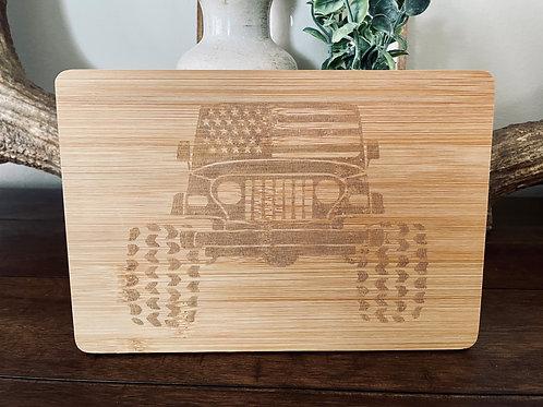 Jeep Bamboo Board