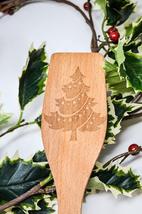 Christmas Tree Spoon