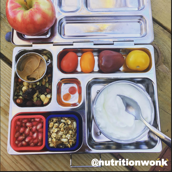A Rover PlanetBox Lunchbox with yogurt, fruits and veggies