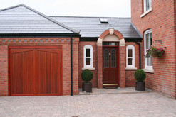 Garage and porch