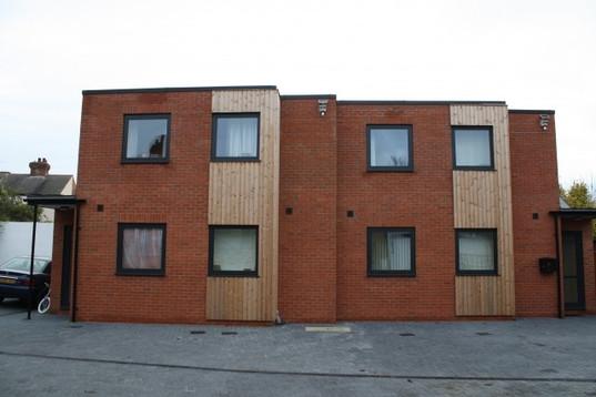 Six new build appartments West Bridgford
