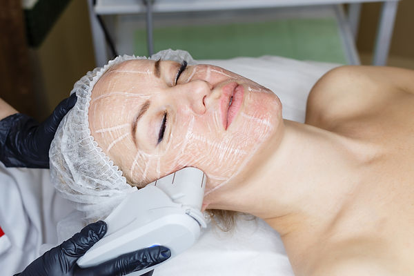Non-surgical face lifting. SMAS lifting