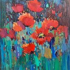 Poppies field SOLD