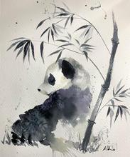 Panda at rest