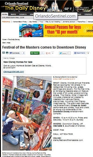 Disney's Festival of the Masters