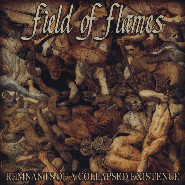 field of flames