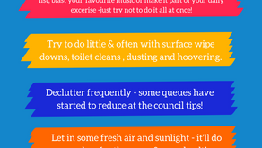 Cleaning tips with Ann 'Dustpan' - Tops tips