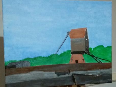 Ian's Art. Wavertree Wind Mill
