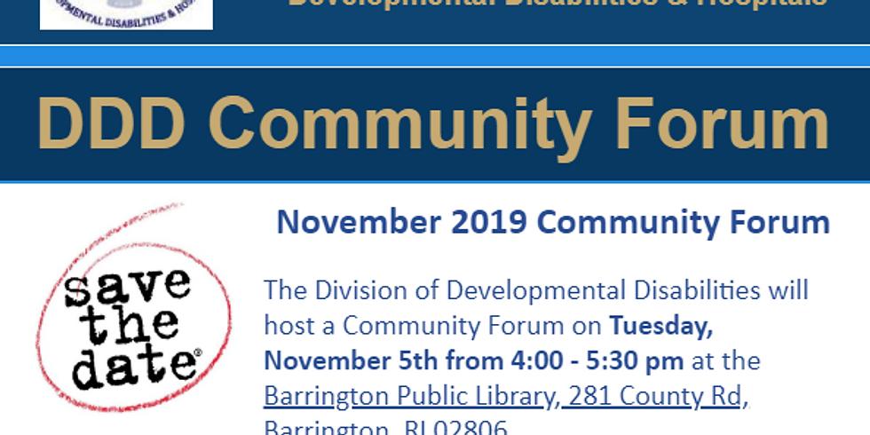 DDD Community Forum