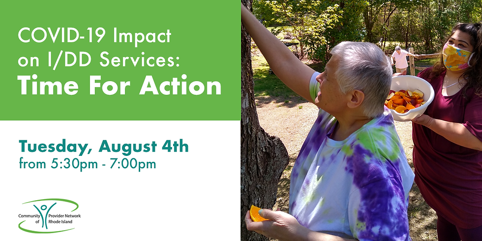 Covid-19 Impact on IDD Services: Time for Action
