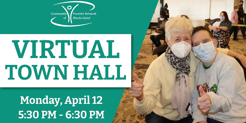 Virtual Town Hall for Adults with I/DD & Families