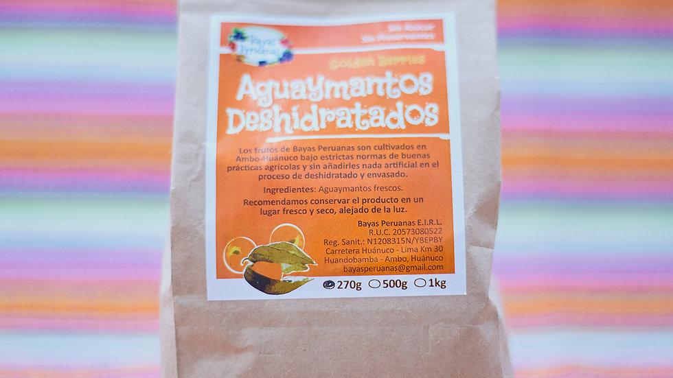 Aguaymantos Deshidratados