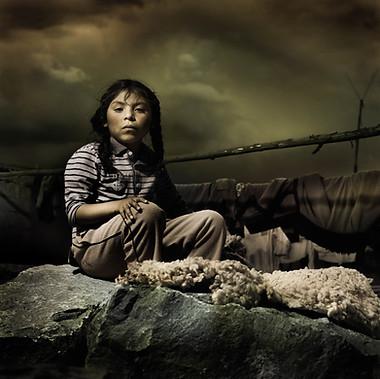 """The sculptor´s daughter"", Cusco 2008"