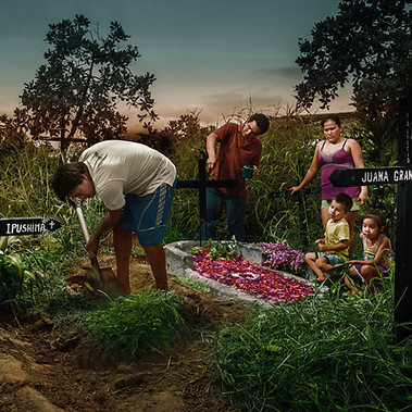 """""""Enriching tombs for dead"""", Iquitos 2014"""
