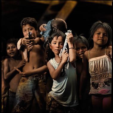 """Children from Belén"", Iquitos 2010"