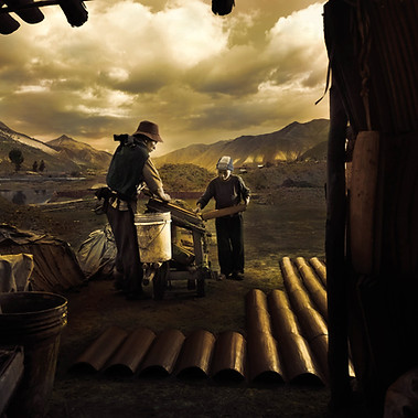 """""""The last tiles are made before the sun falls"""", Cusco 2008"""