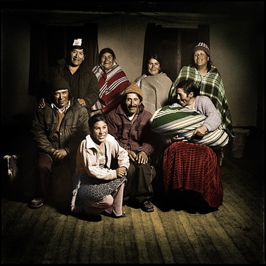 Anapia island inhabitants, Puno 2007