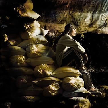 Fernando Uscca, Salt Mines of Maras, Cusco 2008