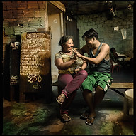 """""""Table talk"""", Iquitos 2010"""