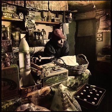 Lucio Limache, shopkeeper, Puno 2007